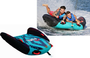 FUEL-SNIPER-2X-2-PERSON-SURF-WATER-SKI-TUBE-BISCUIT-INFLATABLE