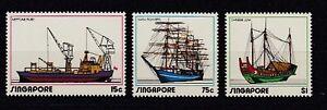 Ships Singapore 167 - 69 (MNH)