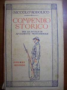 COMPENDIO-STORICO-NICOLO-039-RODOLICO-VOLUME-SECONDO-ZANICHELLI-1945-cc33