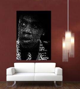 Jay Z Typography Giant 1 Piece  Wall Art Poster MU142