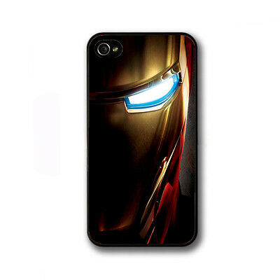 ★ IRON MAN avenger marvel movie comic dc eye hero Case iPhone 5C 5S 4 4S COVER ★