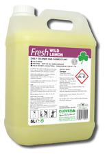 Anti bacterial Disinfectant Spray Clover Lemon Surface Cleaner Kills 99.9% 5L