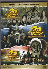20th Century BoysTrilogy : 3-Discs Boxset Japanese Movie Sub Eng  Brand New DVD