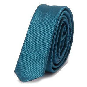 8616w Cravatta Uomo No Brand Green Tie Men