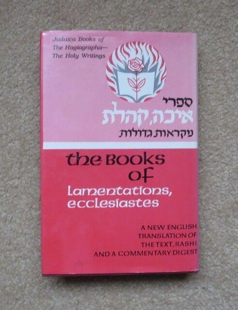 Five Megilloth: A New Translation, by A J Rabbi, 1992 HCDJ