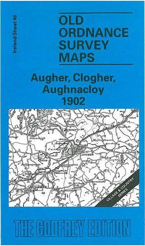 OLD ORDNANCE SURVEY MAP AUGHER, CLOGHER & AUGHNACLOY 1902