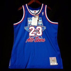 meet 86d23 4c382 Authentic Michael Jordan Mitchell Ness 1993 NBA All Star ...