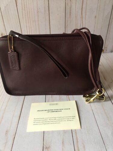 Vintage Coach Shoulder Bag Bonnie Cashin Convertib