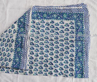 Women Cotton Long Sarong Dupata Stole Scarf New Indian Hand Block Print Fabric