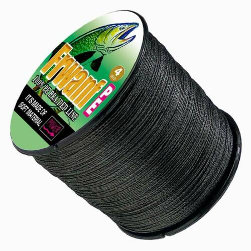 Japanese Super Strong PE Braided Fishing Line Black 500M Multifilament Line