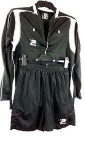 Patrick-Homme-Football-Training-Set-Top-amp-Shorts-Noir-Taille-S-A132-2