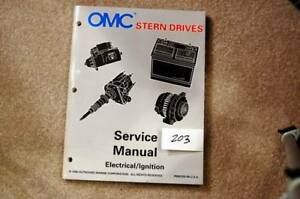Details about OMC Stern Drive Service Manual Electric / Ignition Systems on