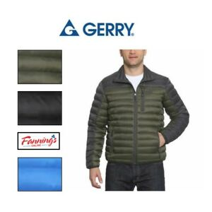 SALE-Gerry-Men-039-s-Sweater-Down-Full-Zip-Jacket-Coat-VARIETY-SIZE-COLOR-F33