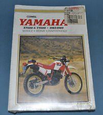 1983-89 Yamaha XT600 TT600 Clymer Service Repair Manual New In Plastic