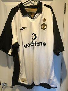 2001-02 Manchester United Man Utd Centenary/3rd Shirt XXL