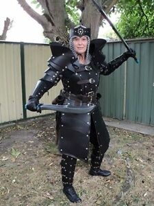 image is loading leather women gladiator armor complete set larp sca