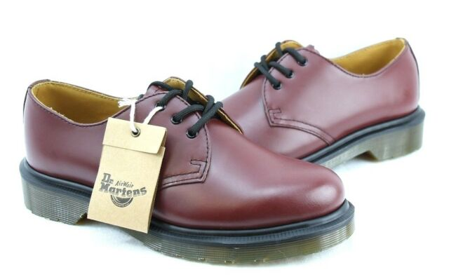 DR. MARTENS 1461 PW CHERRY RED ROUGE
