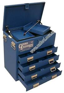 Tradesman-Ute-and-Truck-Toolbox-Heavy-Duty-Tool-Box-4-Drawer-Flat-Top-Blue