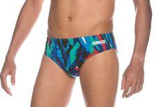 ARENA Blue MaxLife Men's Training/Fitness CALLA Swim Brief Swimsuit NWT Size 36