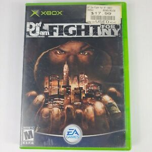 Def Jam: Fight for NY (Microsoft Xbox, 2004) No Manual *TESTED & WORKING*