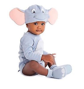 7ea05918c616 Disney Store Deluxe Dumbo Halloween Costume Bodysuit Elephant NEW ...