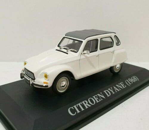 Citroën Dyane 1968 Blanc White 1//43