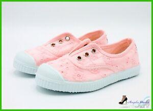 new concept 569e1 b406c Dettagli su Cienta Scarpe da Bambina Ragazza Sneakers per Bimbe Estive  Tennis Bimba 27 28 31