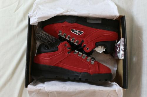 Nuevo fila TrailBlazer low talla 39 rojo de gamuza 90er 80er gamuza cuero Suede