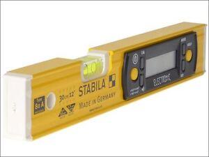 Image is loading Stabila-80A-E-30cm-Electronic-Level-17323