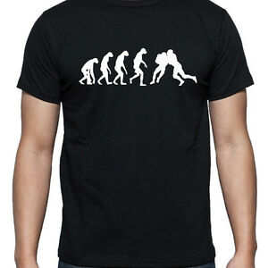 0015add1 Image is loading EVOLUTION-OF-AMERICAN-FOOTBALL-T-SHIRT-FOOTBALLER-TEE-
