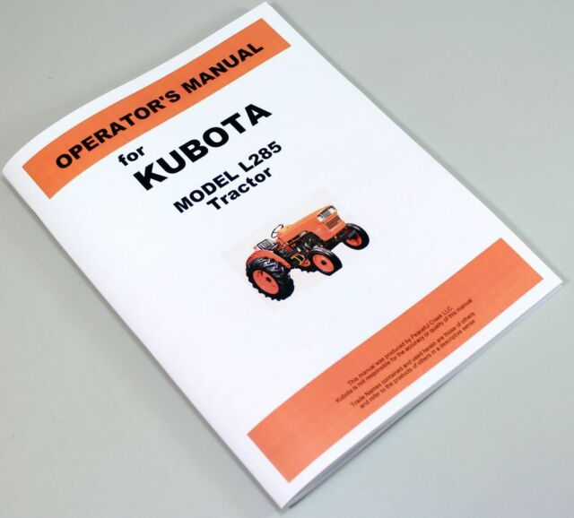 l285 kubota tractor electrical wiring diagrams wire data schema \u2022kubota l285 diesel tractor operators owners manual parts catalog rh ebay com kubota wiring diagram online