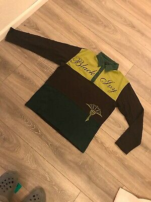 Herren Jungen Teenager Poloshirt Langarmshirt Shirt Gr.s Braun-grün Gut Up-To-Date Styling Brave Joop Clothing, Shoes & Accessories Polos