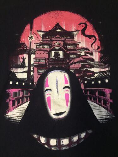 Spirited Away T-Shirt No Face Hayao Miyazaki Women
