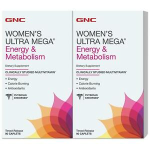 Gnc Going Out Of Business 2020.Details About Gnc Women S Ultra Mega Energy Metabolism Multivitamin 180 Ct Expired 2020 Se