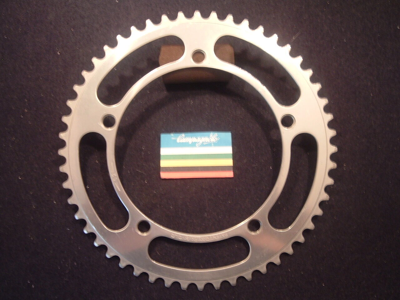 Campagnolo 52t NUOVO RECORD ROAD Chainring Vintage 144bcd- 1967-1971 Bit