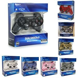 Wireless-Dualshock-Bluetooth-Controller-Gamepad-Joystick-For-Playstation-3-PS3