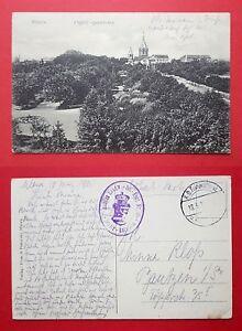 AK-MLAWA-in-Polen-Feldpost-1915-Blick-zur-Kirche-33851