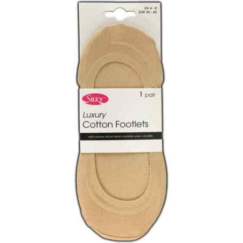 Coton Luxe footlets 1 Paire ou 2 Paire
