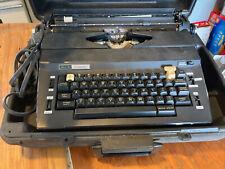 Vintage Sears Best Corrector Portable Electric Typewriter Case Works
