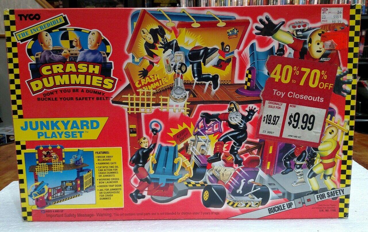 1993 TYCO CRASH DUMMIES JUNKYARD PLAYSET BRAND NEW IN BOX