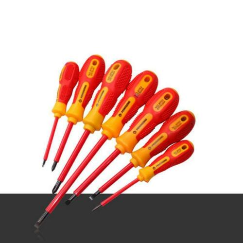 1000v Insulated Screwdriver Slotted Phillips Voltage Repair Electrician tools