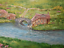 Indexbild 3 - Shire Hobbit village. The Lord of the Rings. Oil canvas.impressionism tolkien