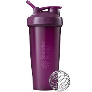 Blender-Bottle-Classic-28-oz-Shaker-Cup-SportMixer-NEW-Full-Plum