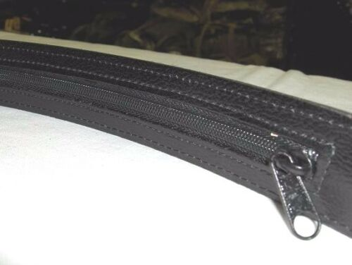 LEATHER MONEY BELT 1.5 INCH REMOVABLE BUCKLE MADE IN USA SIZES 30-44