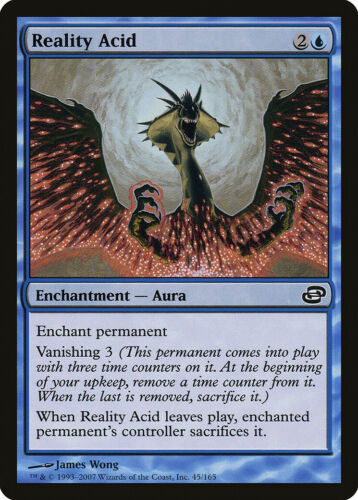 Reality Acid Planar Chaos NM Blue Common MAGIC THE GATHERING MTG CARD ABUGames