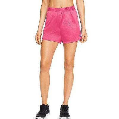 Champion Women's Mesh Shorts Workout Sports Running Shorts