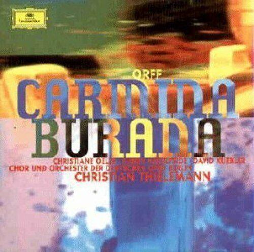 Orff [CD] Carmina Burana (DG, 1999) (Chor & Orch. der Deutschen Oper Berlin/T...