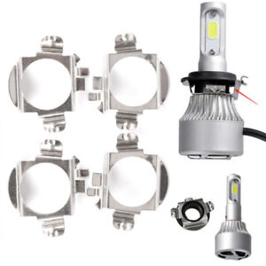 2x-Retenue-d-039-adaptateur-de-phare-H7-LED-de-support-de-base-d-039-ampoule-de-voitureI