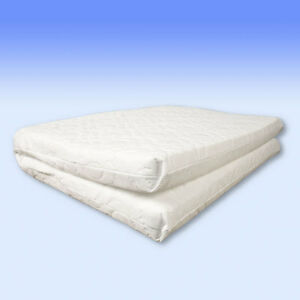 Safety Mattress sized 93 x 66 x 5 cm - for travel cots MADE IN UK