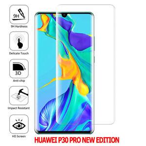 Film Protection Écran Verre Trempé Bord Incurvé Huawei P30 Pro New Edition